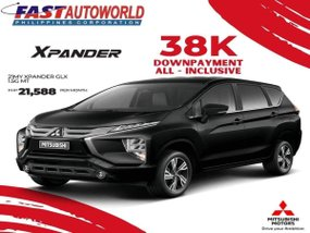 Mitsubishi Xpander GLX 1.5G MT With ₱21,588 Low monthly
