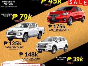 Mitsubishi Mirage GLX AT With ₱175,000 Cash discount