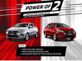 Mitsubishi Mirage G4 GLX 1.2 MT With 20% All-in Down payment