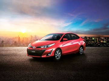 Toyota Vios whole look
