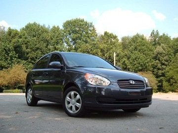 Hyundai Accent 2006 front view