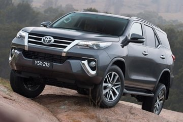 Toyota Fortuner whole look