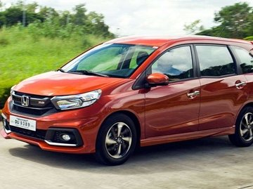 Honda Mobilio whole look