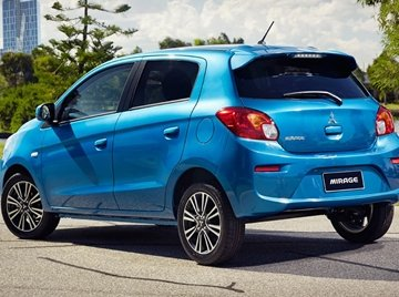 Mitsubishi Mirage whole look