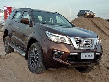 Nissan Terra whole look