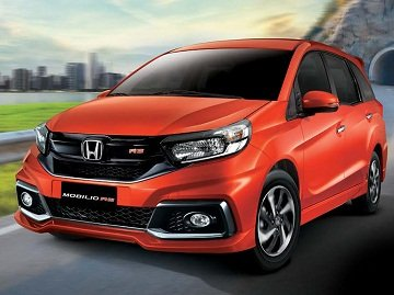 2019 Honda Mobilio on the road