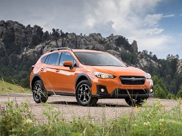 2019 Subaru XV on the road