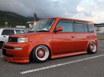 2nd hand red Toyota Bb