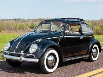 second hand black volkswagen beetle