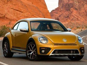 second hand gold volkswagen beetle