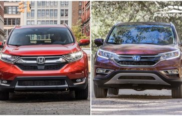 Honda CRV 2018 vs 2017: Spot the changes side-by-side