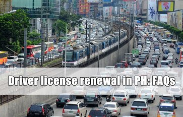 Driver license renewal in the Philippines: An easy to follow FAQ