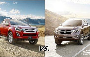 [Auto brawl 101] Isuzu D-Max vs Mazda BT-50: Which will be your next pickup?