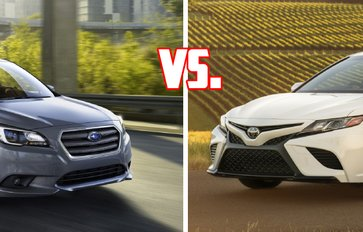 Toyota Camry vs Subaru Legacy: Which rules the premium mid-sized sedans segment?