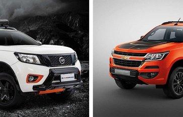 Auto Brawl: Nissan Navara N-Warrior vs. Chevrolet Colorado High Country Storm