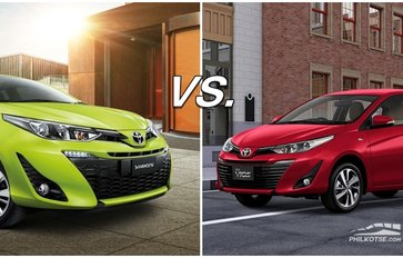 Toyota Vios vs Toyota Yaris: Practically the same car, different target market