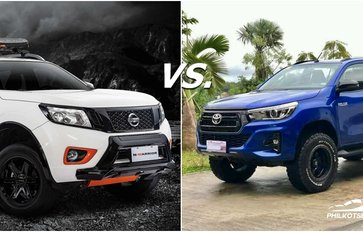Toyota Hilux vs Nissan Navara Philippines: Truck battle!