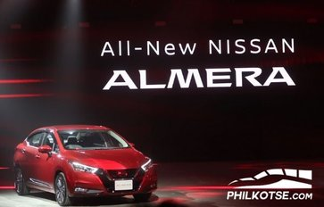 The all-new Nissan Almera 2020: Launched in Thailand!