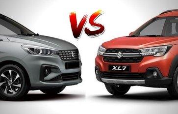 2020 Suzuki XL7 vs Ertiga Comparison: Spec Sheet Battle