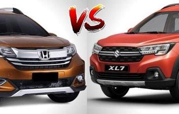 2020 Suzuki XL7 vs Honda BR-V Comparison: Spec Sheet Battle