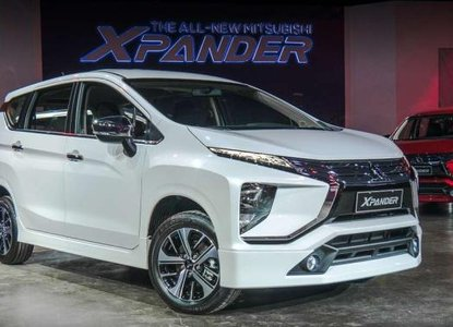 Mitsubishi Xpander 2018 on display at SM Mall of Asia Atrium from May 10th to 16th