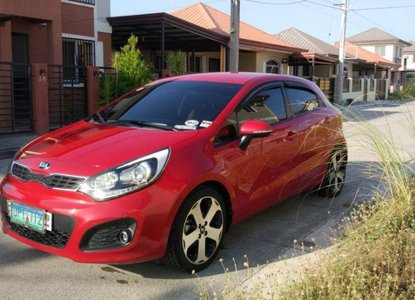 Red Kia Rio Hatchback Price Less Than 250 000 For Sale Philippines
