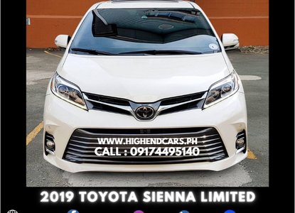 toyota sienna philippines for sale from 3 700 000 in nov 2020 toyota sienna philippines for sale from