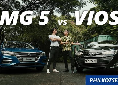 2020 MG 5 Core MT vs Toyota Vios Base MT Comparison: Challenging the King