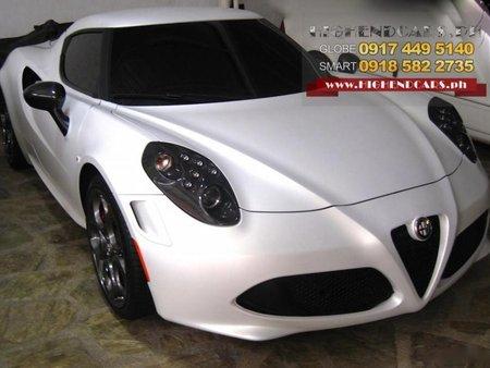 Almost brand new Alfa Romeo 4C Gasoline