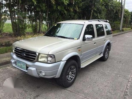 Well Maintained Ford Everest 2005 Model 112421
