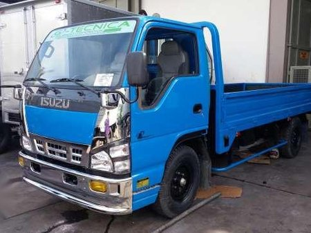 Rebuilt 2017 Isuzu NKR 4HF1 Inline Injection 14ft Dropside 6W 4200GVW