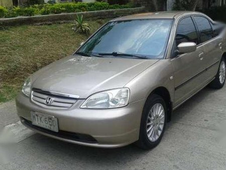 Honda Civic Vti S Dimension 2001 Model