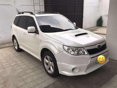 2009 subaru forester xt manual