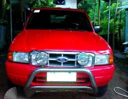 2004 Ford Ranger 4x4 XLT (Red)