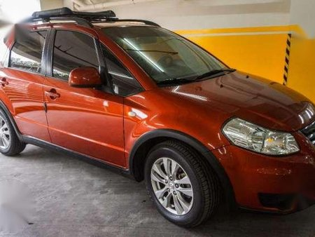 Suzuki SX4 2014 Acquired AT Orange For Sale
