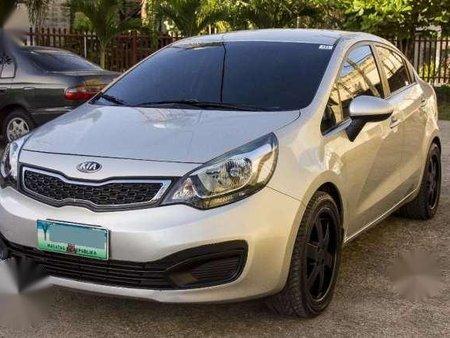 2013 Kia Rio Sedan 1.4L EX MT Cebu Plate