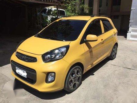 2016 Kia Picanto Automatic Yellow 161728
