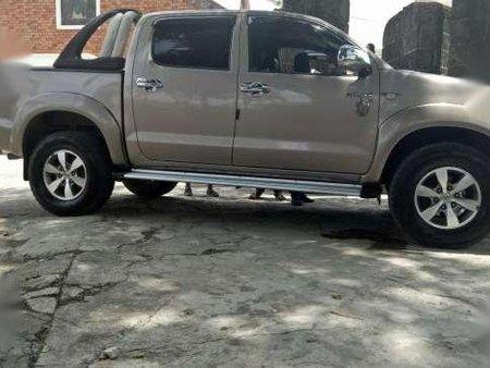 Toyota Hilux Manual Beige 2010