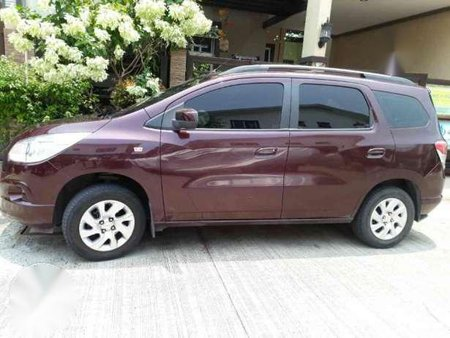 Chevrolet Spin 2015 At Red For Sale 164697