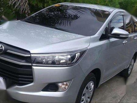 Toyota Innova J MT Silver 2017 For Sale 167044
