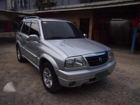 2003 Suzuki Grand Vitara Silver AT
