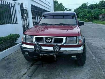 Nissan Frontier 3 2l Red 4x4 2000 169261