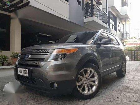 2014 Ford Explorer V6 AT Gray