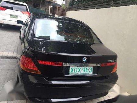 2002 BMW 735i Black AT For Sale