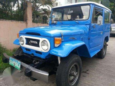 Toyota Land Cruiser Fj40 4x4 Blue 174757