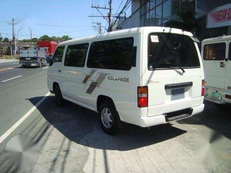 Nissan Urvan Escapade 2012 White MT
