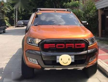 Ford Ranger Wildtrak 2017 Orange For Sale