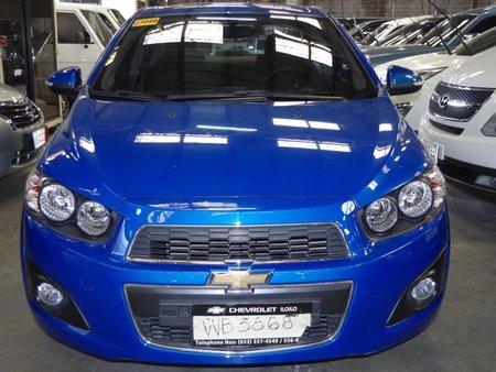 Chevrolet Sonic 2014 Gasoline Manual Blue 191358