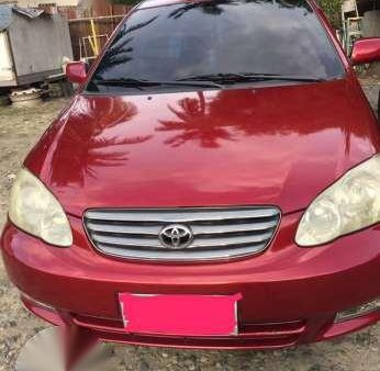 Toyota Corolla Altis 1.6G AT 2001 Red