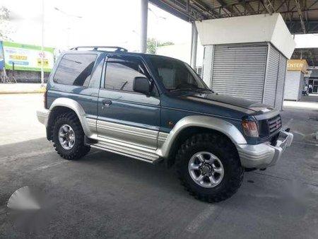 Mitsubishi Pajero 2002 AT Blue For Sale  philkotsecom